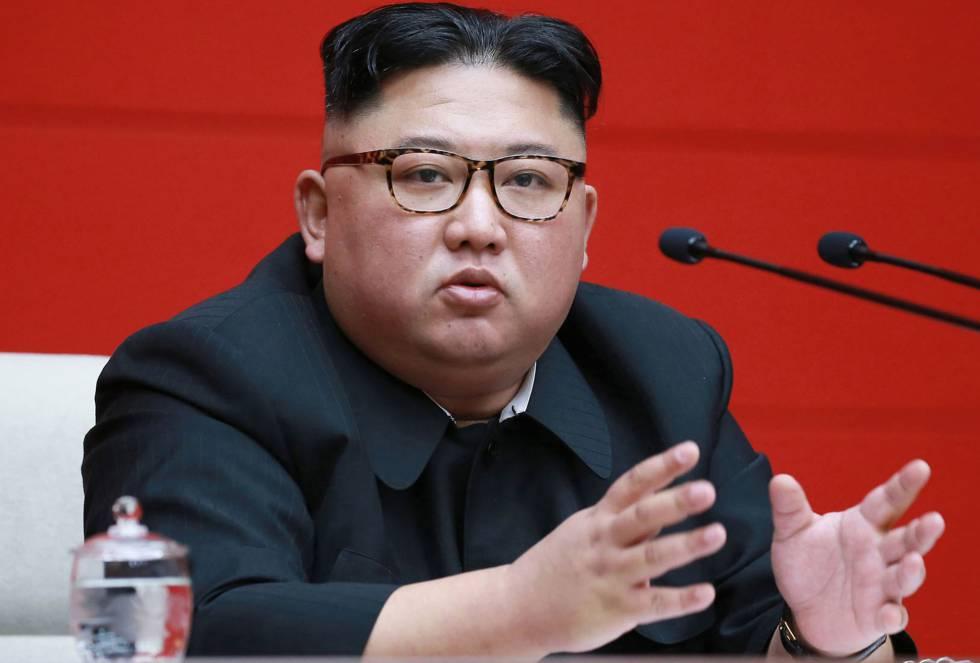 El líder norcoreano, Kim Jong-un, en una imagen de archivo.