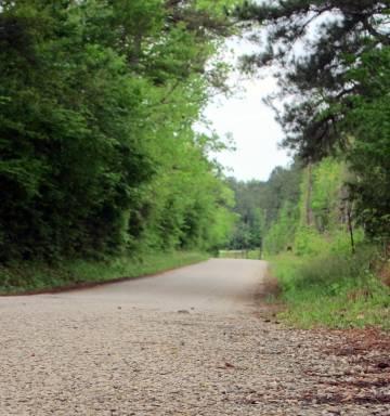 Sección de la carretera de Jasper por la que fue arrastrado hasta la muerte James Byrd.