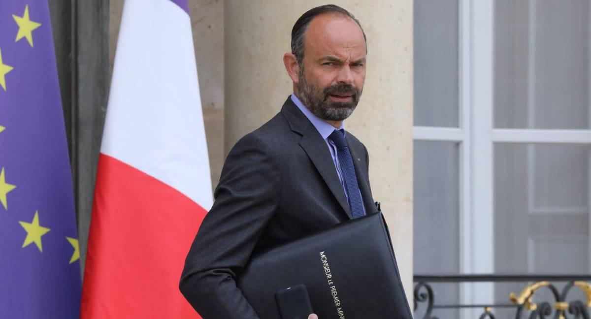 El primer ministro francés, Édouard Philippe