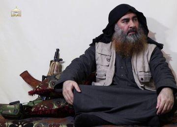 Abubaker al Baghdadi, en el vídeo difundido este lunes.