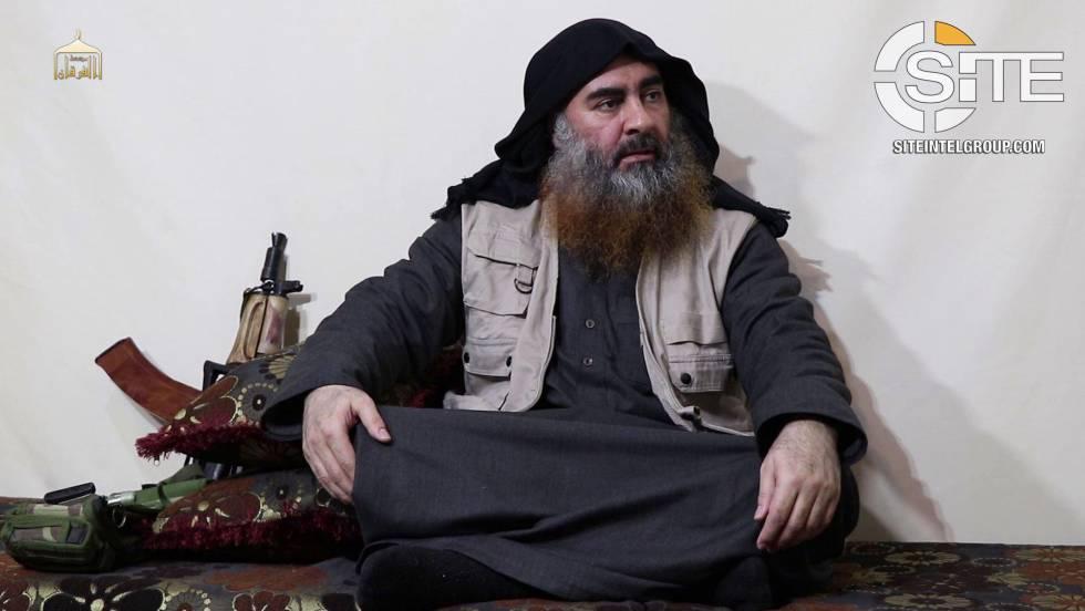 Abubaker ao Bagdadi, no vídeo difundido nesta segunda-feira.