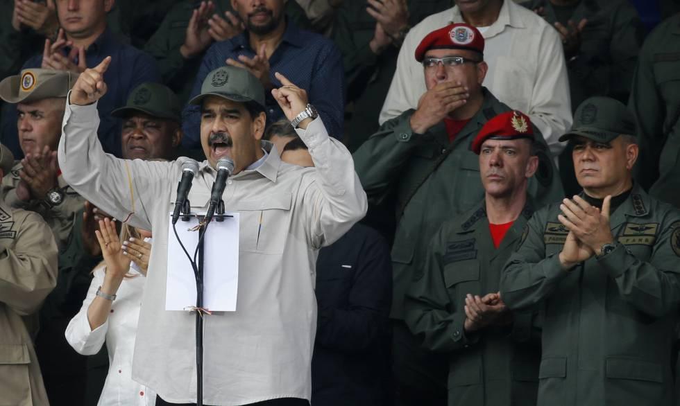 Nicolás Maduro el pasado 13 de abril.
