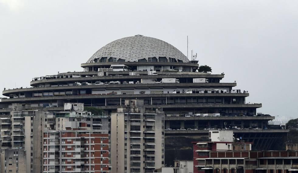 La sede del Sebin, en Caracas.