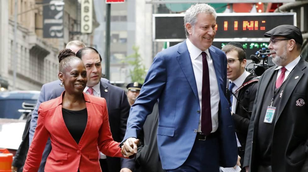 Bill de Blasio: El alcalde de Nueva York anuncia su candidatura a las  presidenciales de EE UU en 2020 | Internacional | EL PAÍS