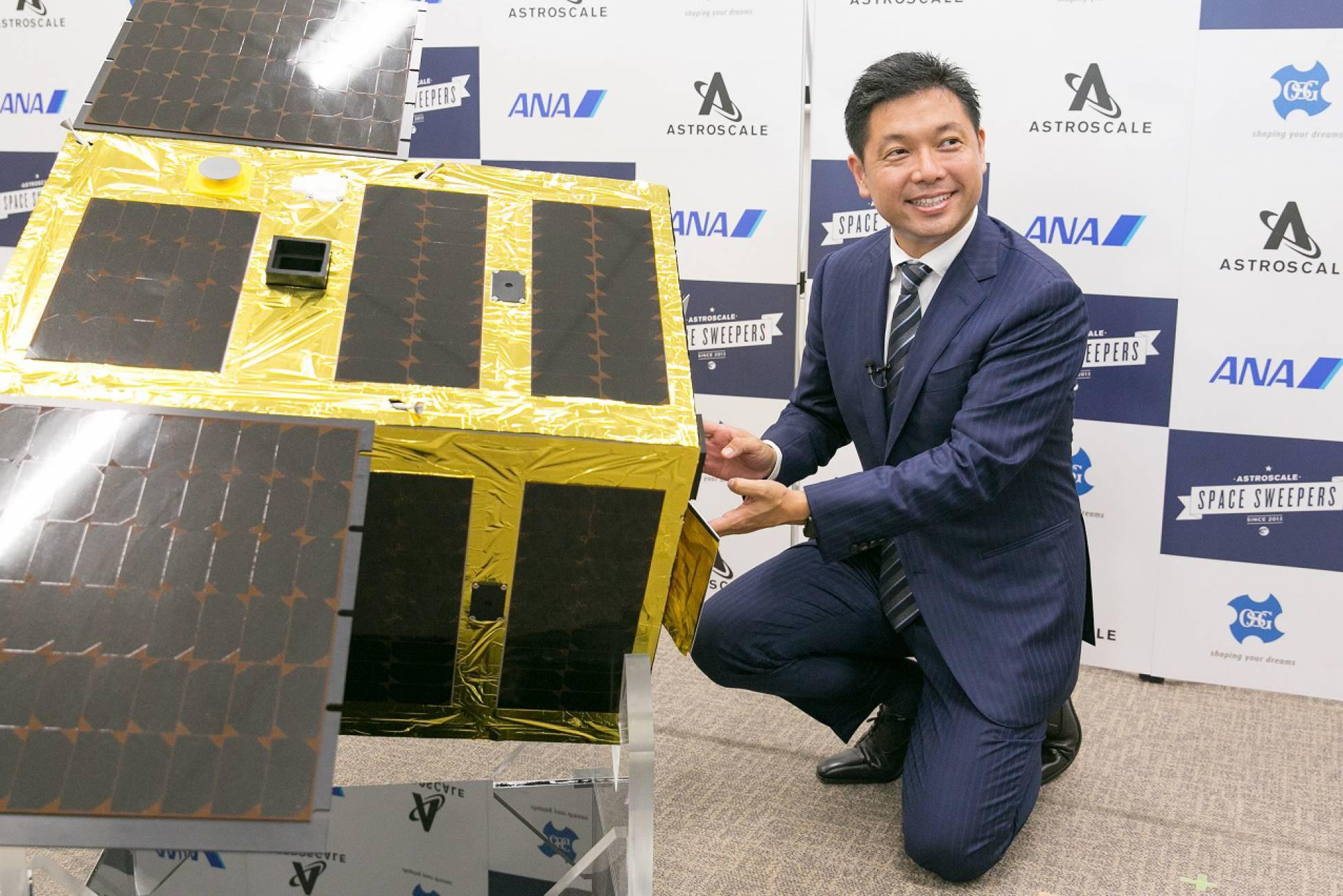 El japonés que tiene la solución para barrer el espacio