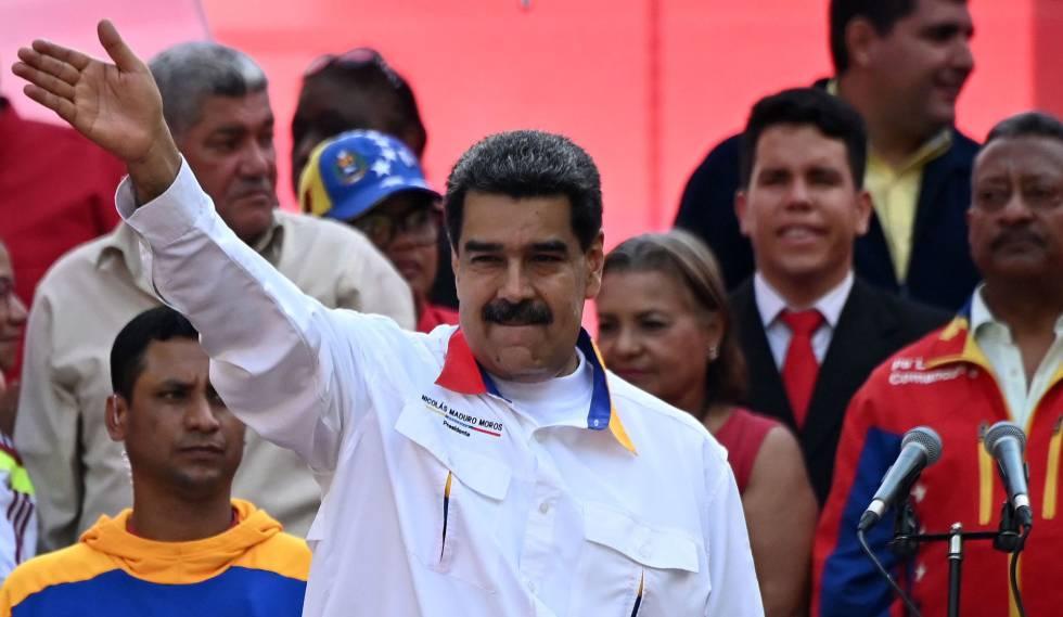 Nicolás Maduro, el pasado día 20 en Caracas.