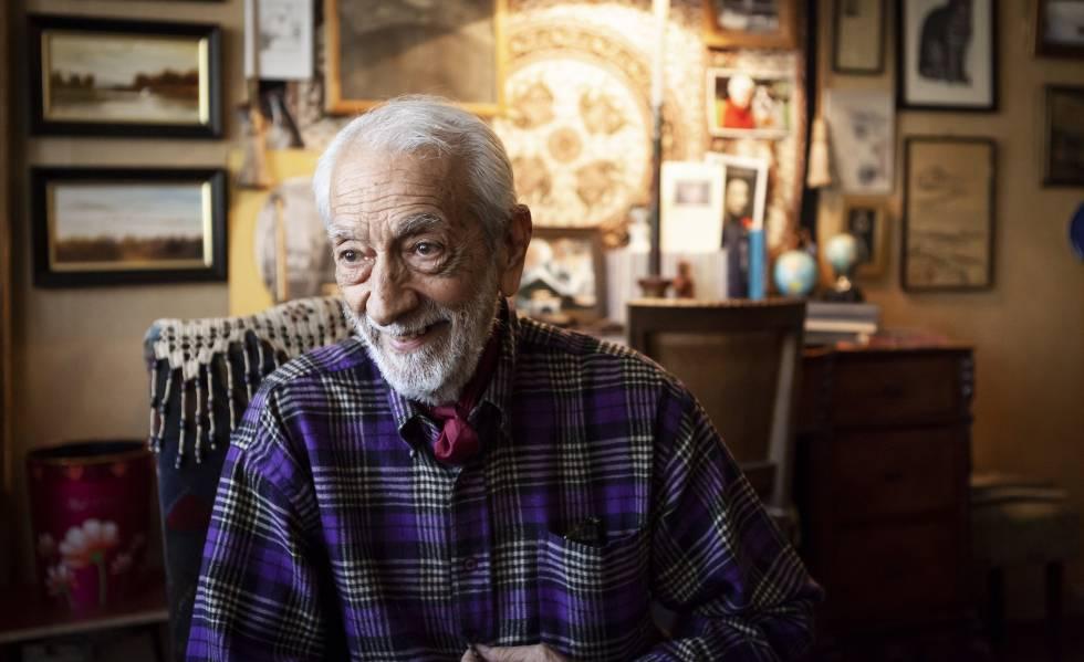 El actor chileno Hernán Letelier, fotografiado en marzo de este año en su casa de Santiago.