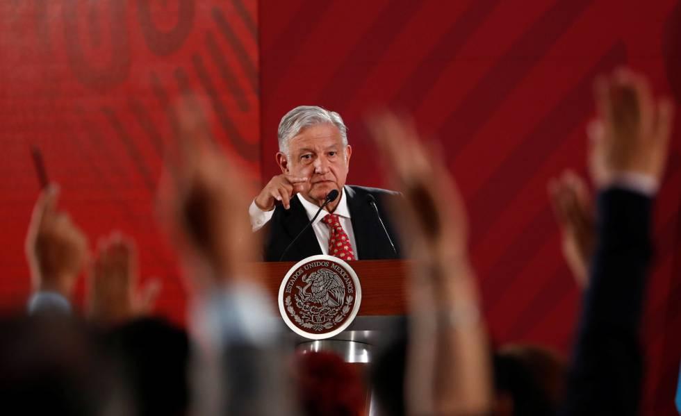 López Obrador, en su conferencia del miércoles 29.