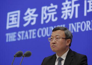 Wang Shouwen, viceministro de Comercio chino, este domingo.
