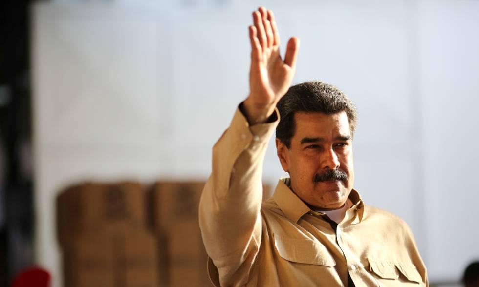 Nicolas Maduro, en Caracas en mayo pasado.