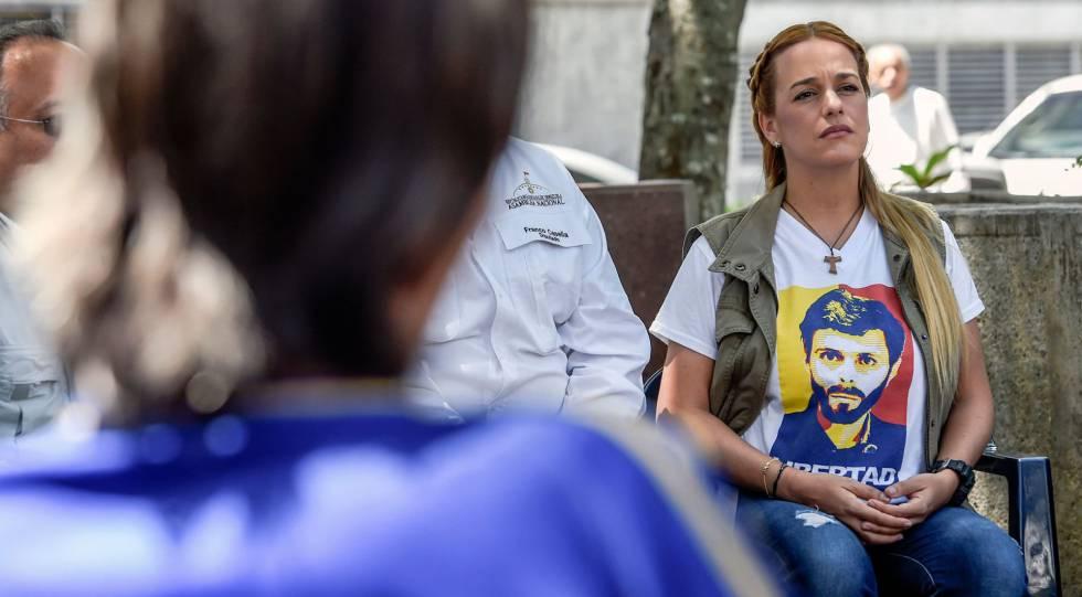 Lilian Tintori, en marzo de 2018 en Caracas.