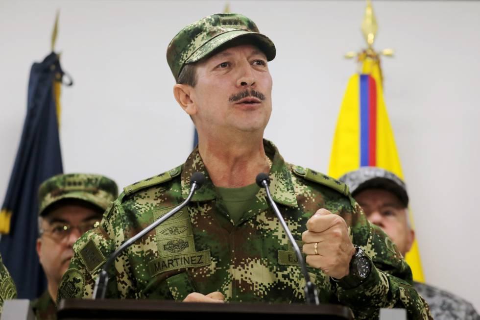 Nicacio Martínez Espinel: El jefe del Ejército de Colombia dirigió ...