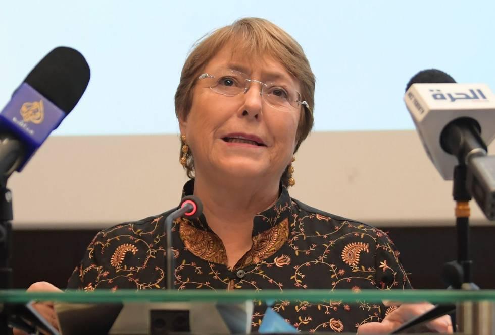 La Alta Comisionada para Derechos Humanos de la ONU, Michelle Bachelet.