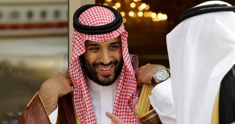O principe saudita Mohamed bin Salmán, em 2012.