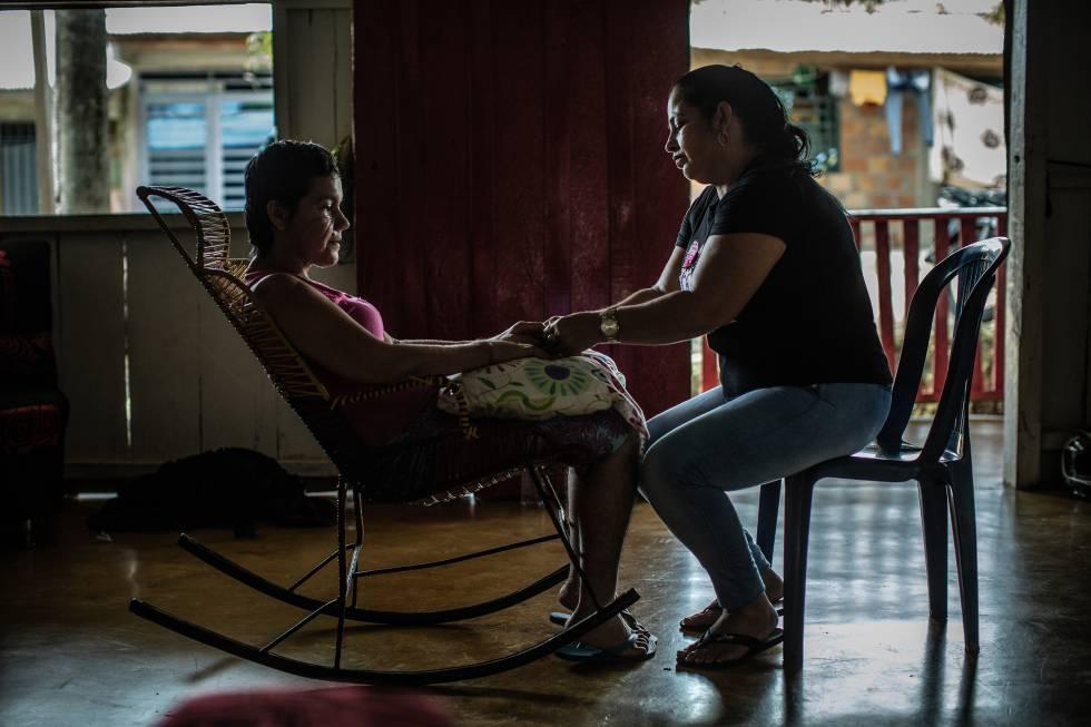 Dilcia, vecina del Caquetá, recibió un brutal ataque con 18 machetazos del que logró sobrevivir.