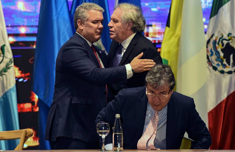 Derrotada la iniciativa encabezada por Colombia para reformar la defensa de  Derechos Humanos en la OEA | Internacional | EL PAÍS
