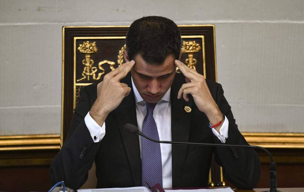 Juan Guaidó, esta semana en la Asamblea Nacional.