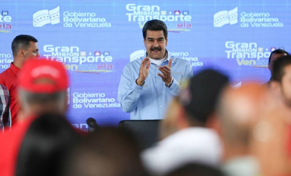Maduro en un acto en Caracas el pasado viernes.