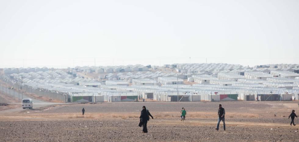 Los refugiados sirios se perpetúan en el desierto y los barrios de Jordania
