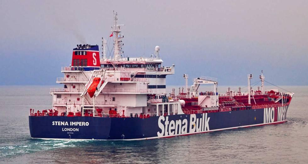 El 'Stena Impero', en una imagen sin datar de la compañía a la que pertenece, Stena Bulk.