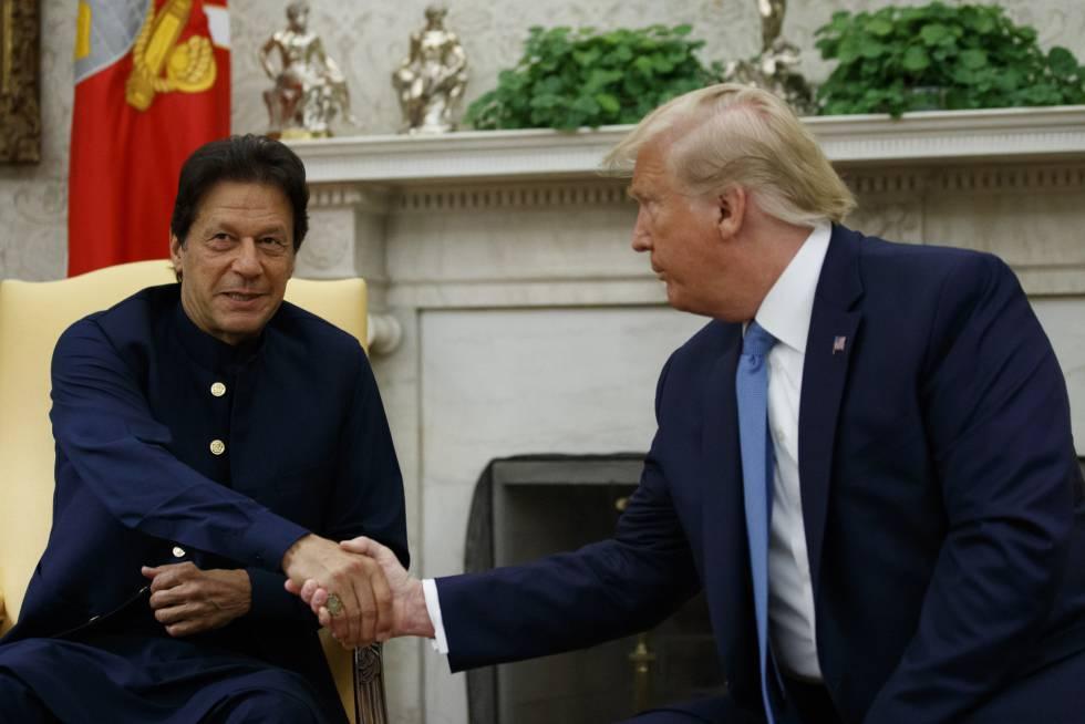 Trump presiona a Pakistán para lograr un alto al fuego de los talibanes en Afganistán