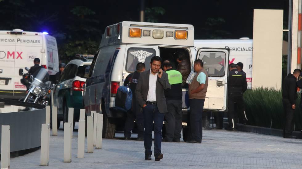 Lugar del doble asesinato el miércoles en Ciudad de México.