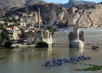 Turquia inunda 10.000 anos de história