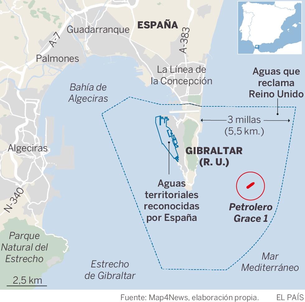 Londres libera al petrolero iraní retenido en Gibraltar pese a la oposición de EE UU