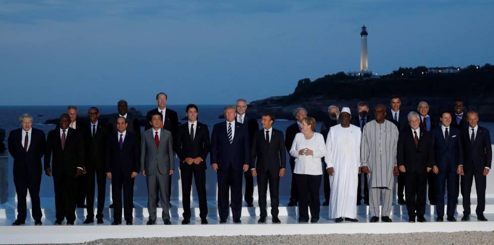 Rusia y la guerra comercial evidencian la división de los socios en la cumbre del G7 en Biarritz