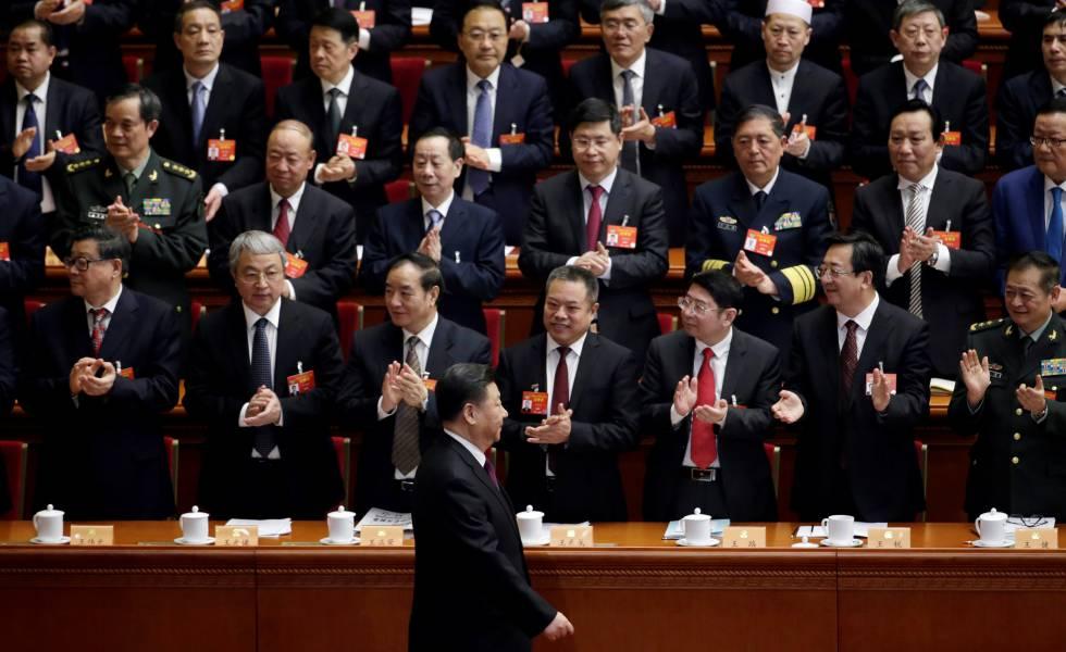 El presidente chino, Xi Jinping, en una conferencia en Pekín el pasado marzo.