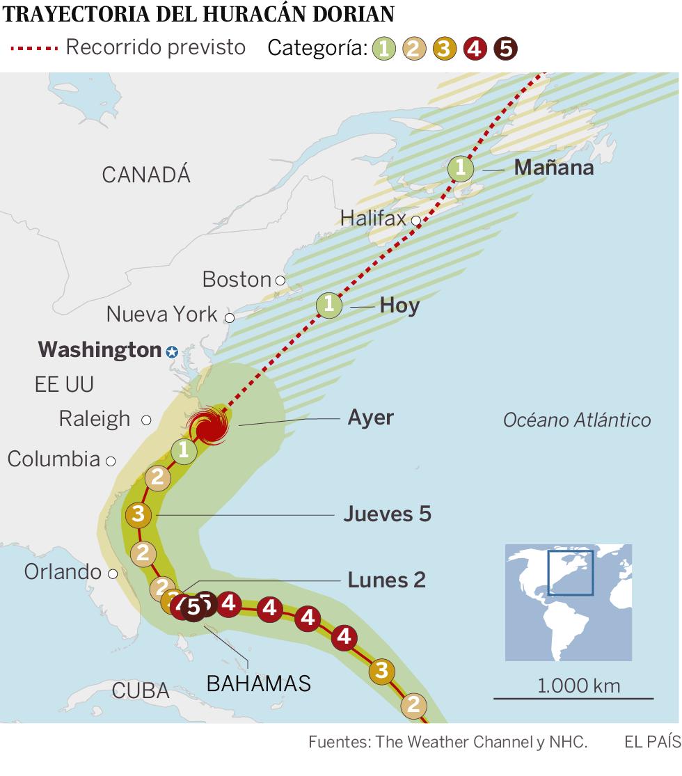Bahamas se enfrenta a la tragedia tras el azote del huracán Dorian