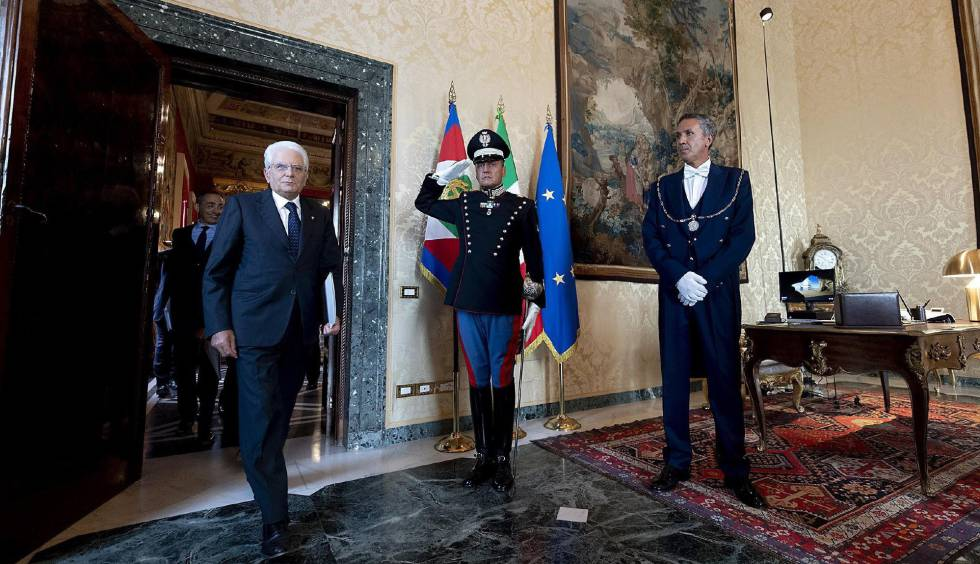 Il presidente Sergio Mattarella il 22 agosto al Palazzo del Quirinale.