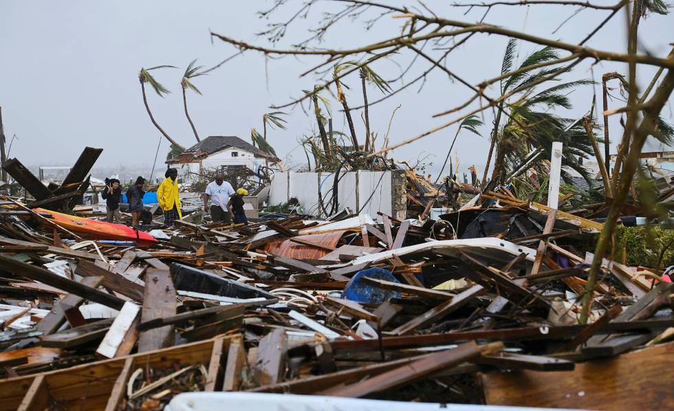 Los daños provocados por Dorian en las islas Abaco, el pasado lunes.