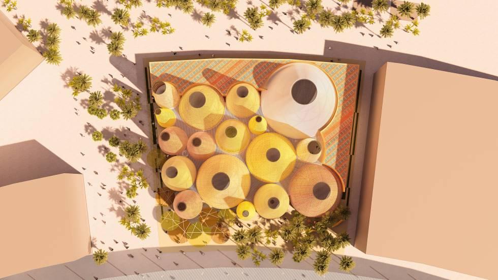 Sostenibilidad, aire acondicionado natural y flamenco: así será el pabellón español en Dubái 2020