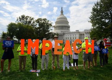 As seis semanas que levaram Trump às portas do impeachment