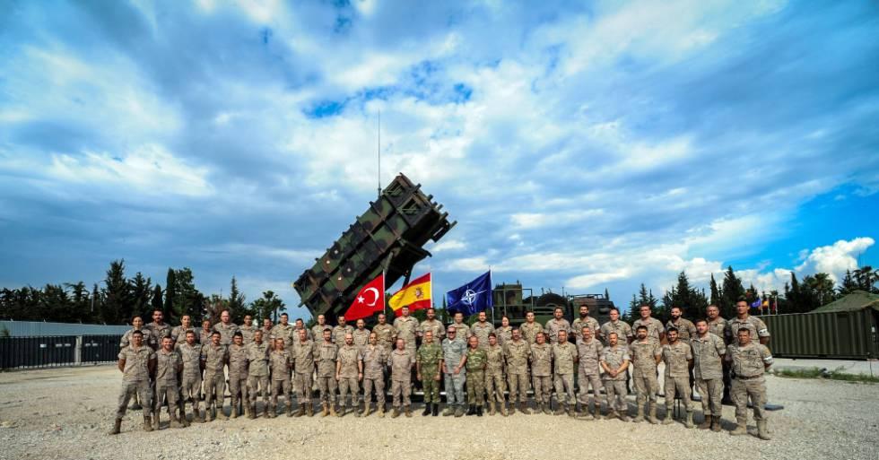 España retirará su batería de misiles Patriot de Turquía si se agrava el conflicto con los kurdos