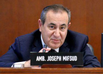 Joseph Mifsud, en una reunión de la Organización de los Estados Americanos, en la ciudad de Washington en 2014.