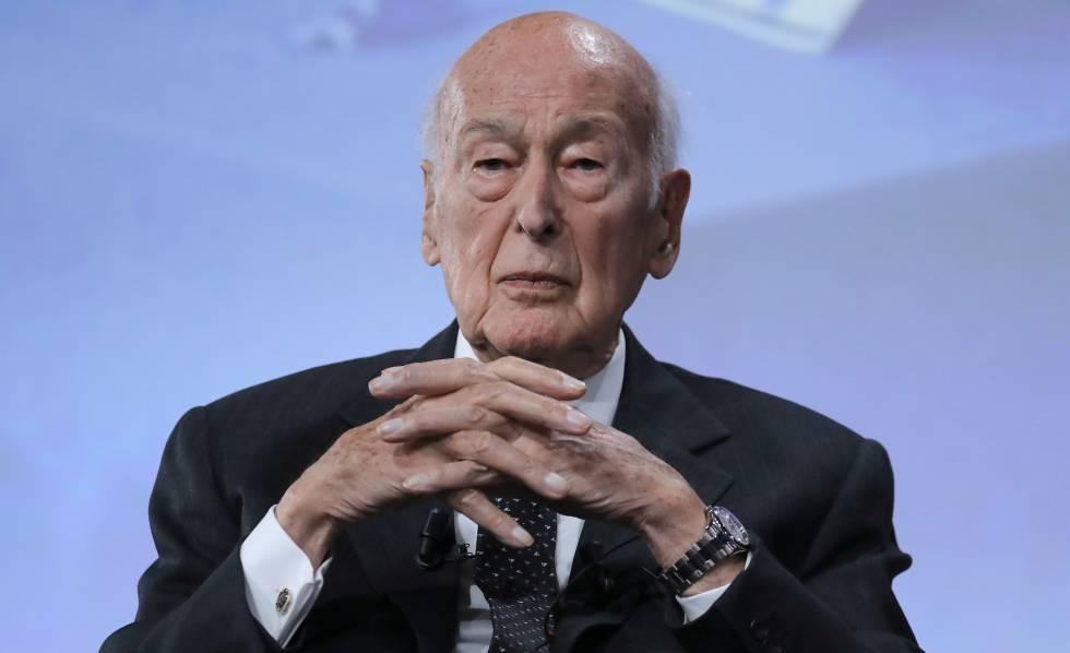 Valery Giscard d'Estaing, el pasado junio en París.