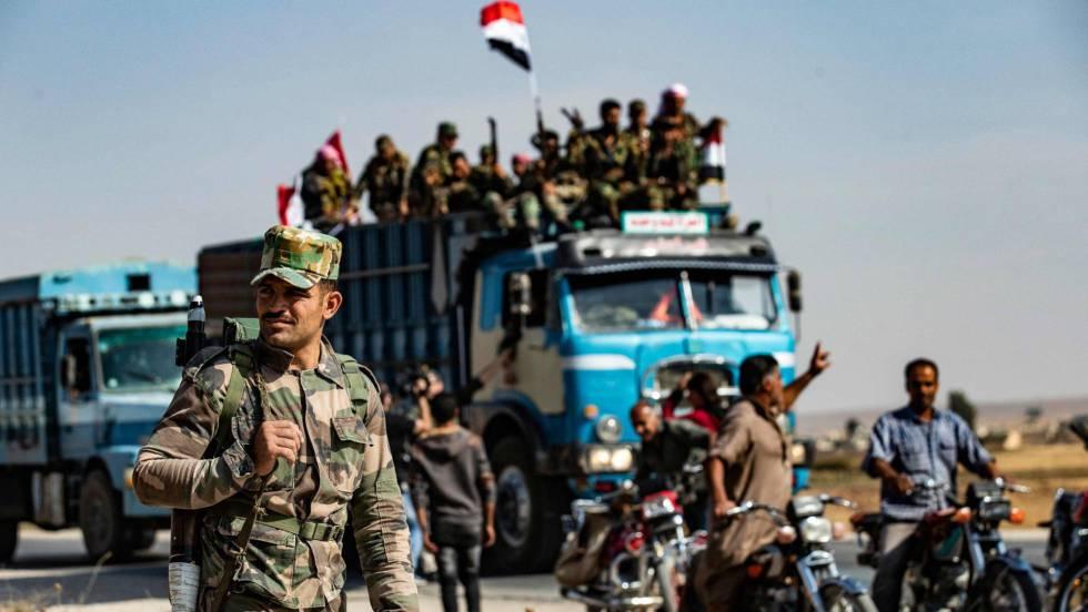 En el frente de la guerra siria: relato desde los dos lados de la ofensiva turca