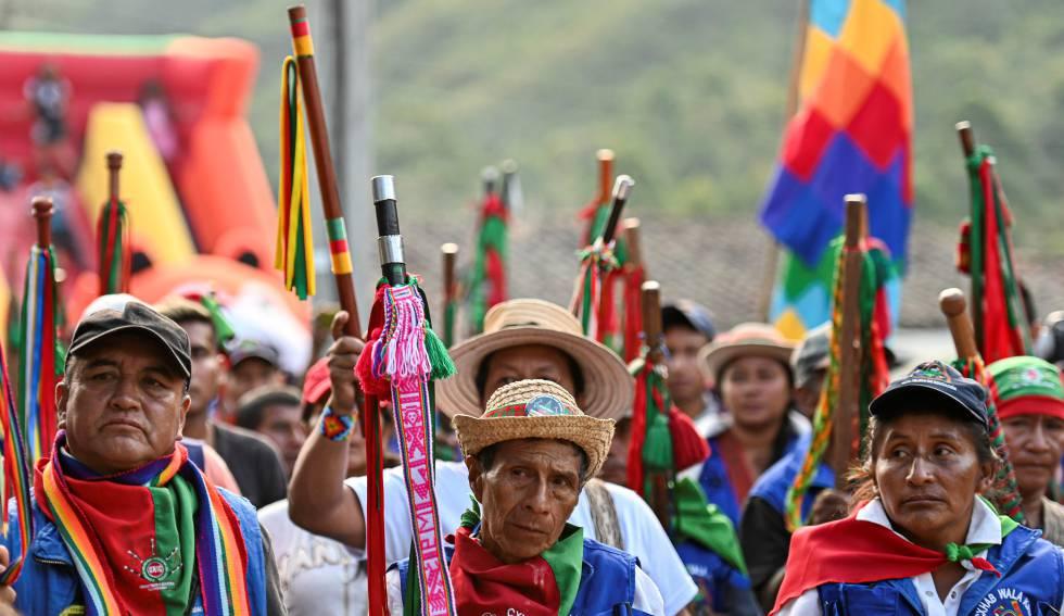 Un grupo armado mata al menos a cinco indígenas en Colombia | Colombia | EL PAÍS