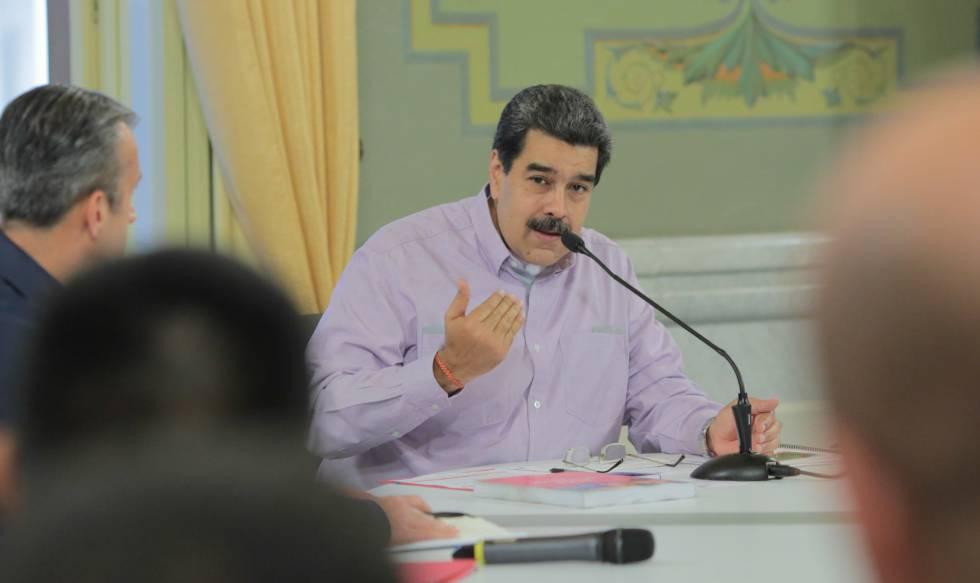 Nicolás Maduro, en un acto de Gobierno este miércoles.