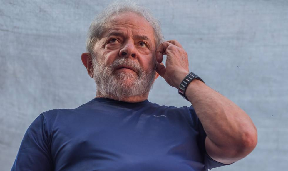 Lula da Silva, en abril de 2018.