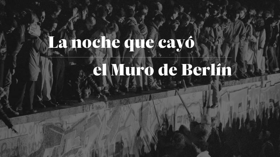Muro de Berlim, a ferida identitária que golpeia a Alemanha | Internacional  | EL PAÍS Brasil