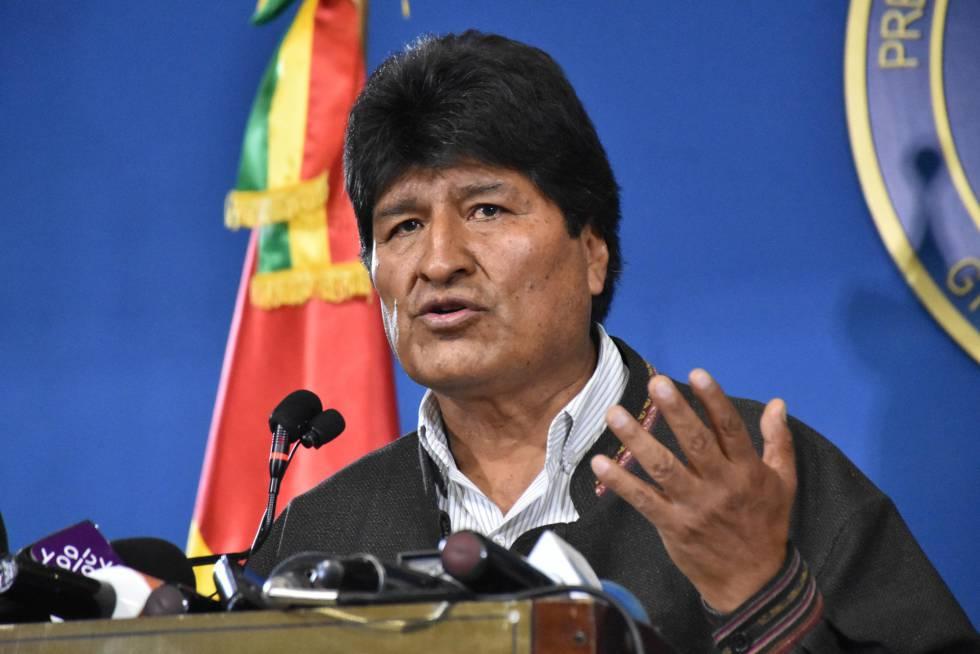 Evo Morales critica asistencia de EE.UU. a elecciones en Bolivia