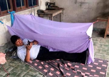 Fotografía de la cuenta de Twitter de Morales del lugar en el que, según el expresidente, pasó la noche del domingo tras dimitir.