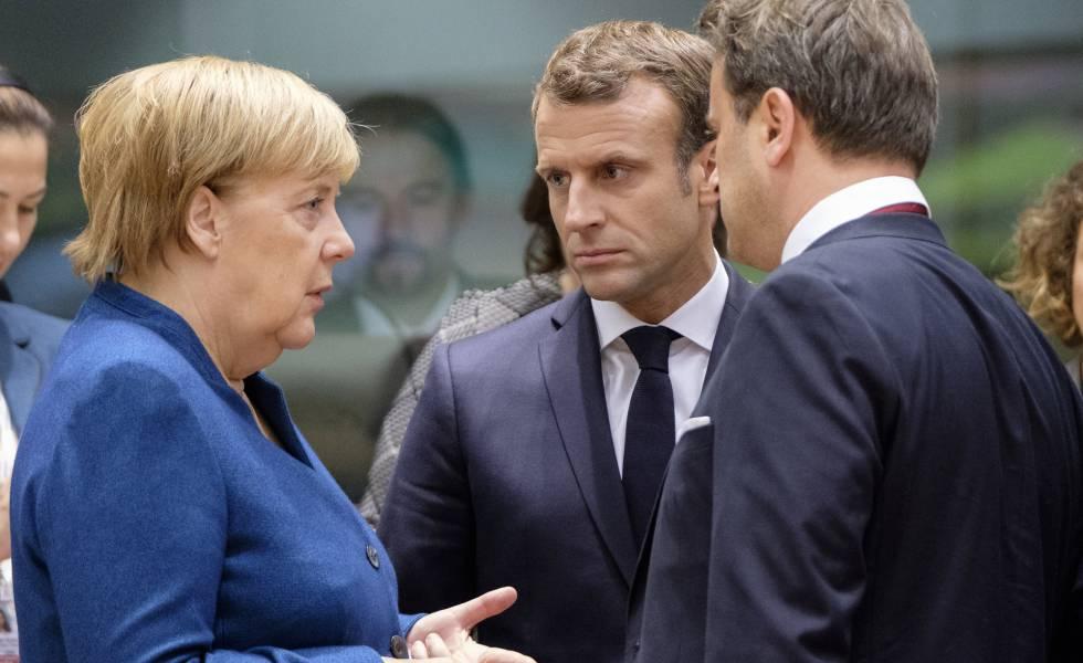 Francia Lanza Un Gran Pulso Por Marcar El Futuro De Europa Internacional El Pais