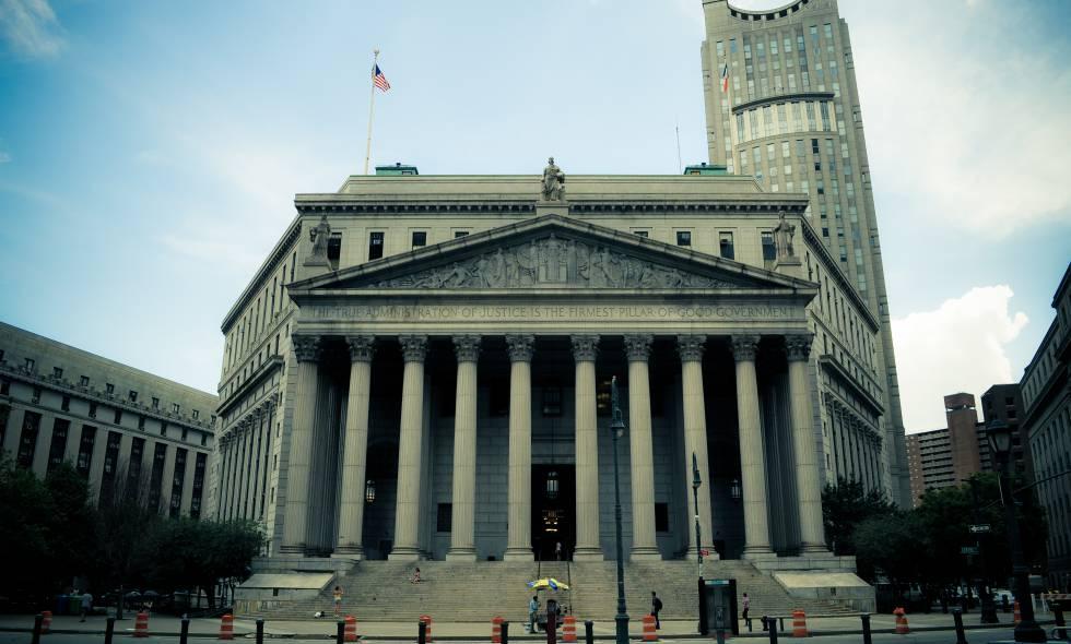 La Corte Suprema de Nueva York.