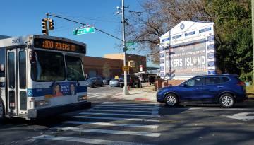 Acceso a Rikers Island desde del barrio de Queens
