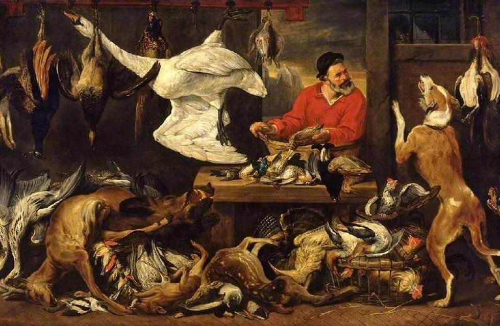 'The Fowl Market' (El mercado de las aves), de Frans Snyders.