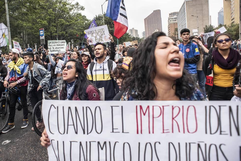 Las protestas ahondan la brecha entre Duque y los jóvenes | Colombia | EL PAÍS